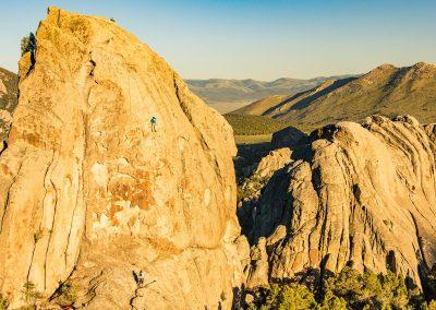 Rock-climbing in Idaho