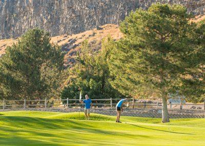 Canyon Golfing