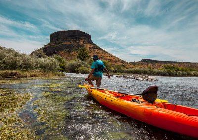 Blue Heart Springs Canoeing