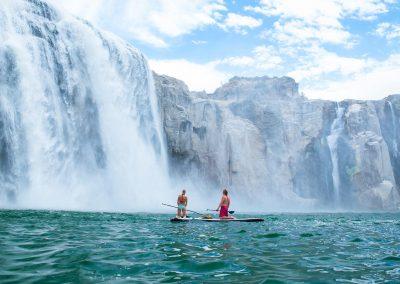 Waterfall Paddle Boarding