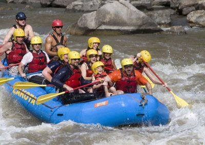 Colorado River Rafting through Glenwood Canyon