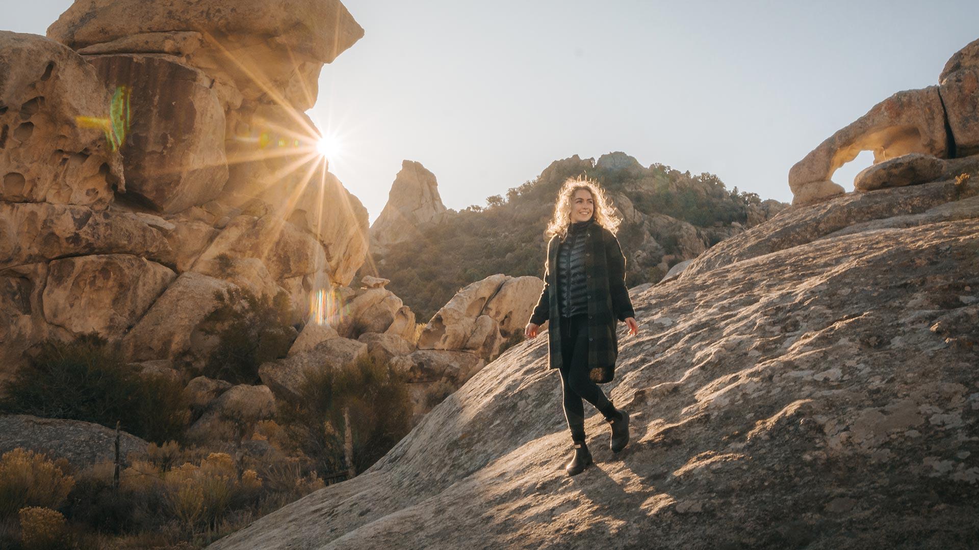 Walking Castle of Rocks
