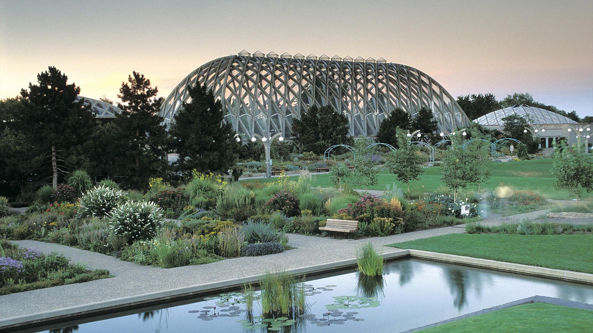 Denver Botanic Gardens at Dusk