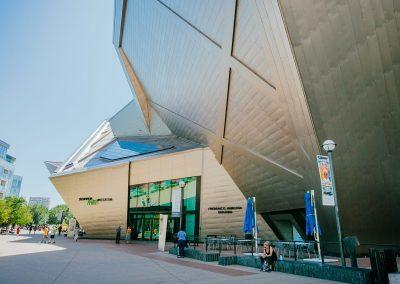 Denver Art Museum Exteriors