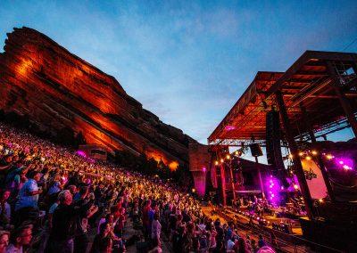Red Rock Amphitheatre Concert