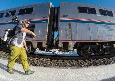 Winter Park Express Ski Train