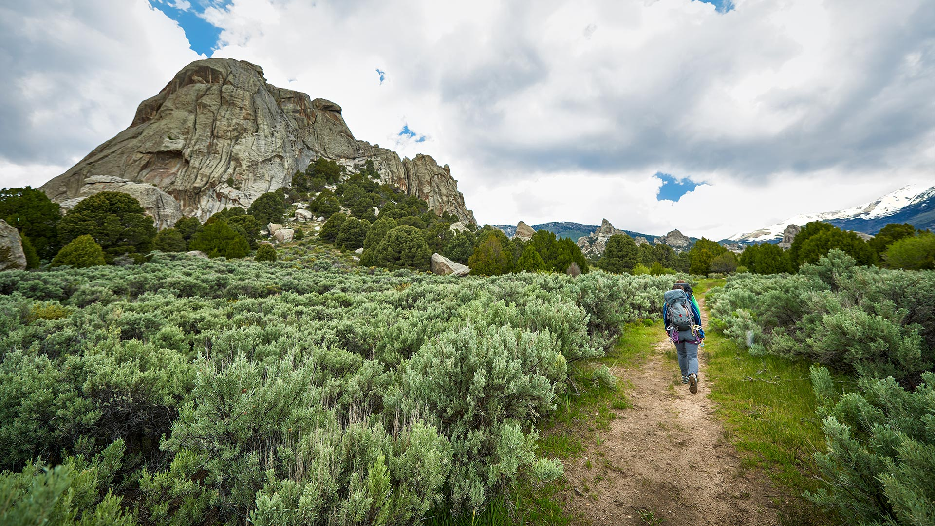 Hiking Castle Rocks State Park in Almo, ID