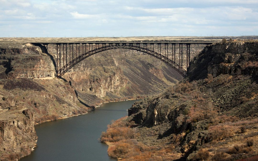 The I.B. Perrine Bridge in Twin Falls is one of the few bridges open to BASE Jumpers year round.