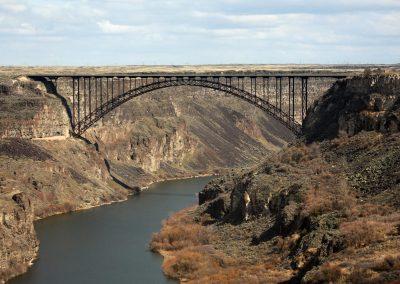 Perrine Bridge in Twin Falls, ID