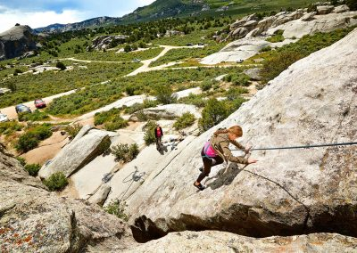 Rock Climbing City of Rocks National Reserve in Almo, ID