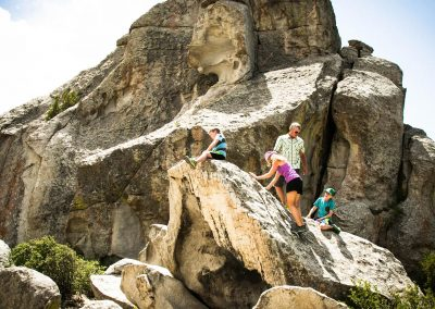 Rock Climbing City of Rocks National Reserve in Malta, ID