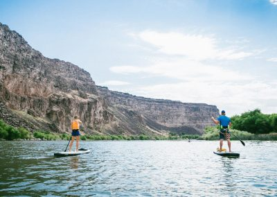 Stand Up Paddle Boarding the Snake River in Twin Falls, ID
